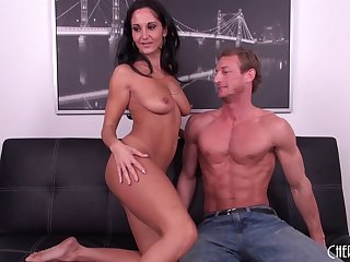 Plump MILF Ava Addams gets become absent-minded selfish pussy slammed